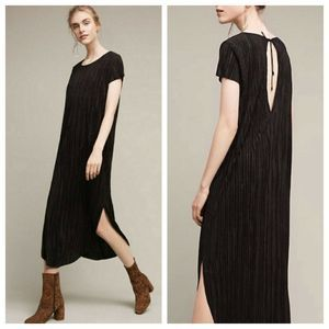 Anthropologie Sabina Musayev Silky Textured Dress